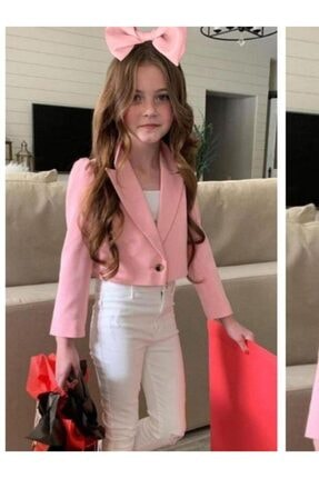 Riccotarz Kız Çocuk New Pink Pudra Alt Üst Takım
