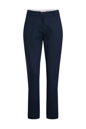 Tommy Hilfiger Kadın Mavi Pantolon Destiny T5 Ankle Pant WW0WW25882