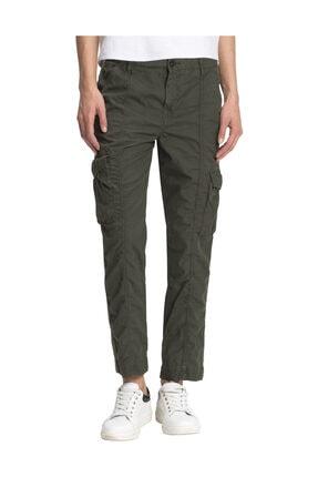 Tommy Hilfiger Kadın Yeşil Pantolon Mira Cargo Pant WW0WW21181