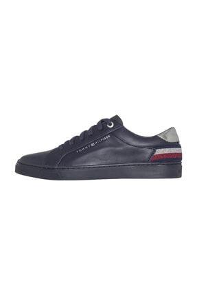 Tommy Hilfiger Kadın Mavi Sneaker FW0FW03710