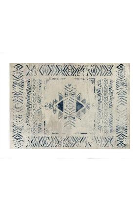 Madame Coco Filicia Halı - Lacivert / Açık Bej - 120x170 Cm
