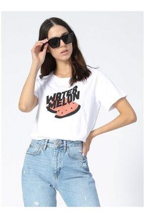 LİMON COMPANY Kadın Beyaz Tişört