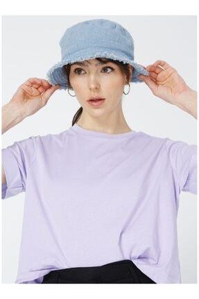 LİMON COMPANY Kadın Lila Tişört
