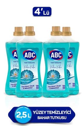 ABC Yüzey Temizleyici -  Bahar Tutkusu 2,5 lt x 4 Adet