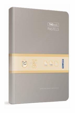 Gıpta Thebook Pastels  Kareli Iplik Dikişli Sıvama Sert Kapak Defter 17x24 120 Yaprak
