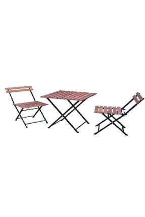 Güzelkan Bistro Masa Sandalye Takımı Pembe