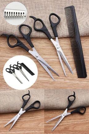 New'S Kuaför Berber Tıraş Seti Kuaför Makası+ara Makası+tarak Özel Set
