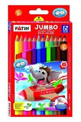 Fatih Jumbo Tam Boy Boya Kalemi 12 Renk