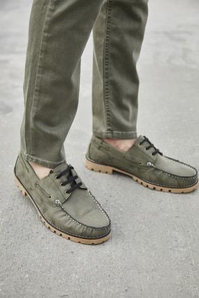 Sateen Men Erkek Haki Nubuk Ayakkabı