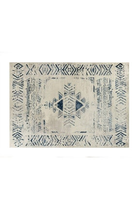Madame Coco Filicia Halı - Lacivert / Açık Bej - 160x230 Cm