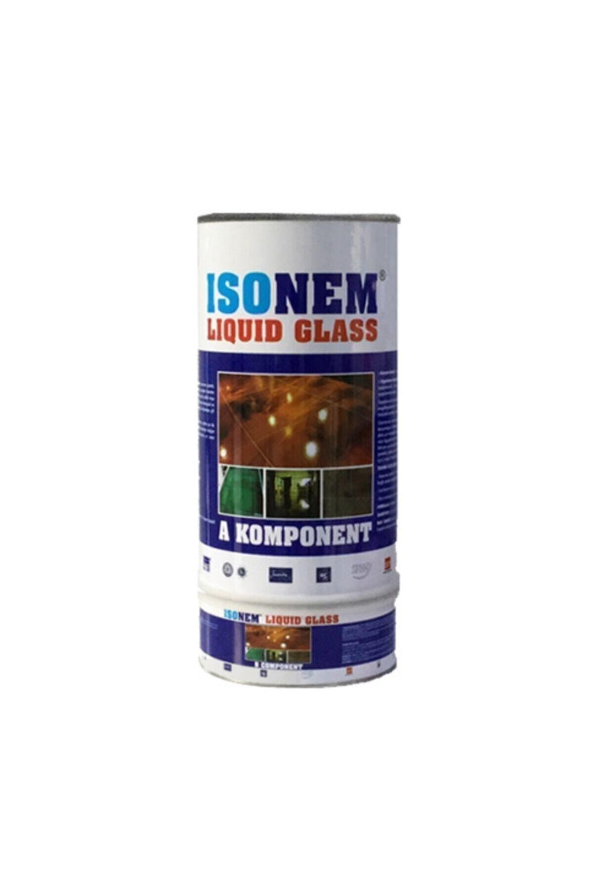 Isonem Lıquid Glass (SIVI CAM) Şeffaf Zemin Su Yalıtımı 2 Kg 1