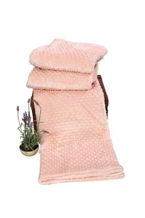 Özdilek Tomurcuk Battaniye Çift Kişilik Pudra