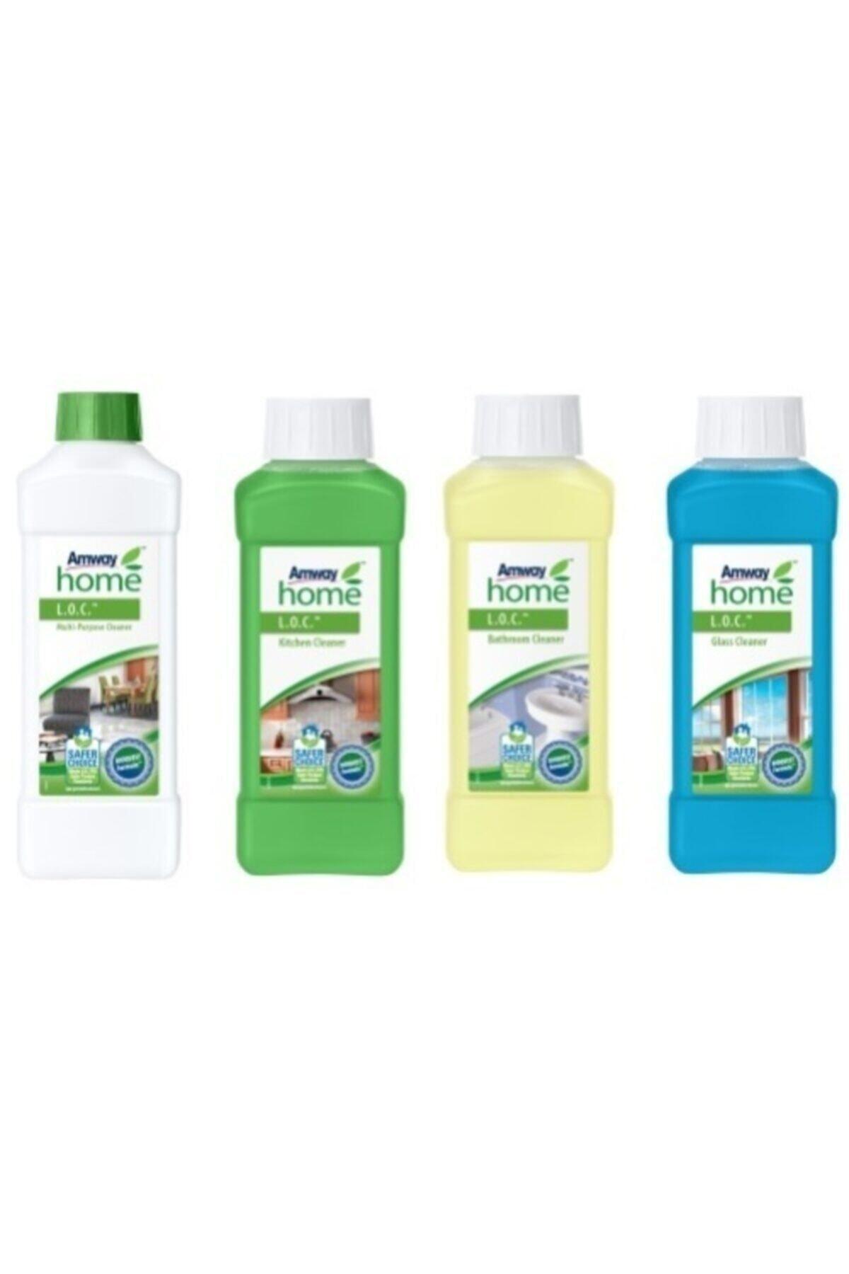 Amway Avantajlı Loc Temizlik Paketi (Çok Amaçlı + Mutfak + Banyo +cam Temizleme) 1