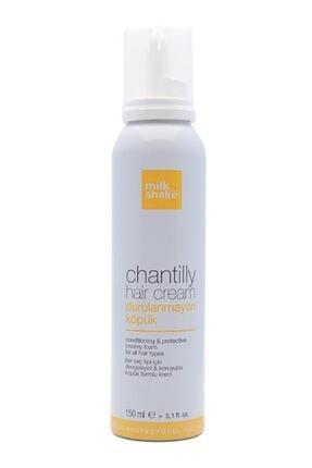 Milkshake Chantilly Yumuşatıcı ve Nemlendirici Saç Köpüğü 150 ml