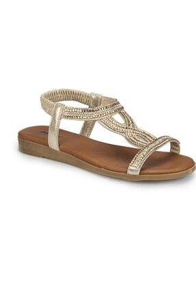 Polaris 81.311517 Altın Kadın Sandalet