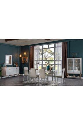 İSTİKBAL Galery Yemek Oda Sandalye 6 Adet