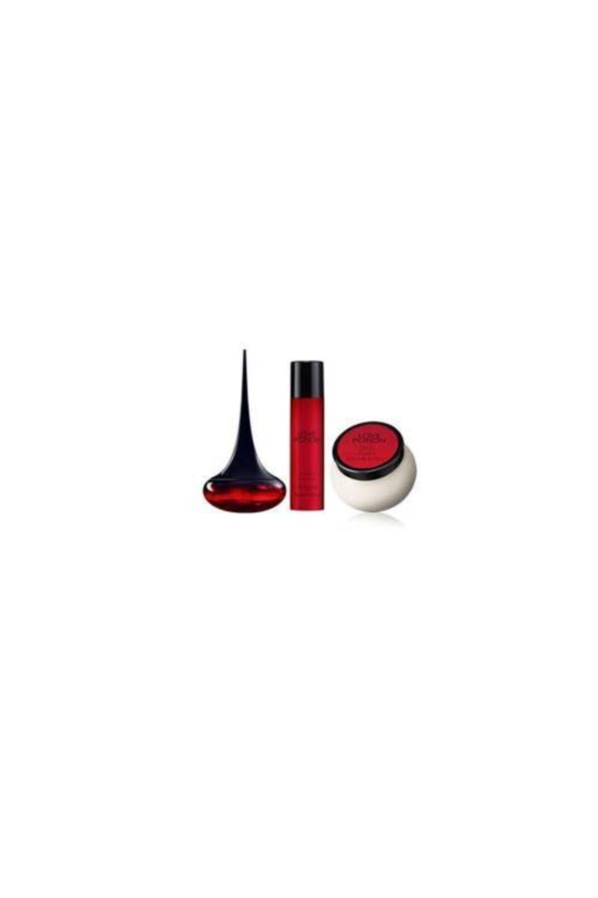 Oriflame Love Potion Edp 50 ml Kadın Parfümü + Parfümlü Vücut Kremi 250 ml  + Parfümlü Vücut Spreyi 75 ml 2
