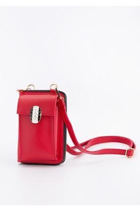BAGzy Kırmızı Çapraz Cep Telefonu Çantası