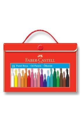 Faber Castell Plastik Çantalı Tutuculu Pastel Boya 18 Renk