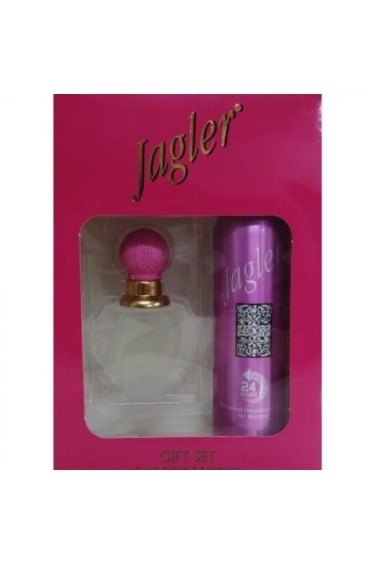 Jagler Kadın Parfüm 60 ml ve Deodorant 150 ml 1