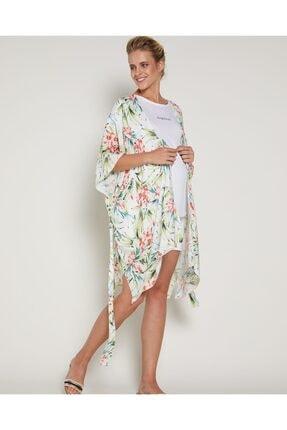 GEBE Kadın Yeşil Kimonosu