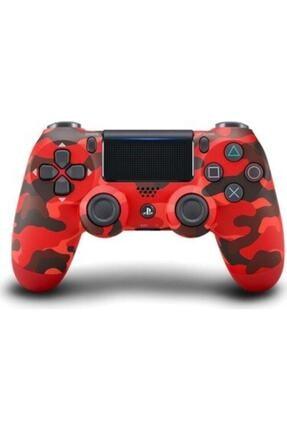 OEM Kırmızı Ps4 Dualshock 4 V2 Kamuflaj Gamepad