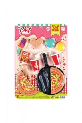 Mgs Mr Cheef Pizza Ve Tatlı Menüsü17 Parça Kız Çocuk Evcilik Oyuncakları