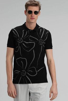 Lufian Karan Spor Polo T- Shirt Siyah