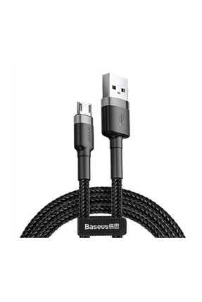 Baseus Cafule Serisi Usb Kablo Micro Usb 2.4a Siyah-camklf-bg1