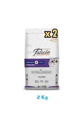 Felicia Kısırlaştırılmış Somonlu Kedi Maması 2 Kg (2 Adet)