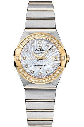 Omega Constellation 123.25.27.20.55.003 Çelik-altın Pırlantalı Bayan Saati