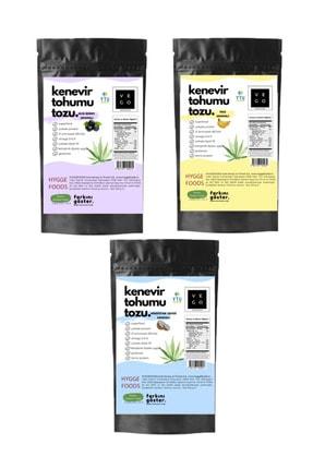 Hyggefoods Vegovego Kenevir Kendir Tohumu Tozu - Yüksek Protein Tropikal Paket