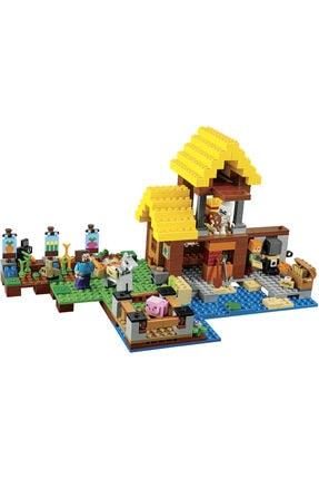 LEGO Yapı Oyuncak Seti Minecraft My World Serisi 432 Parça