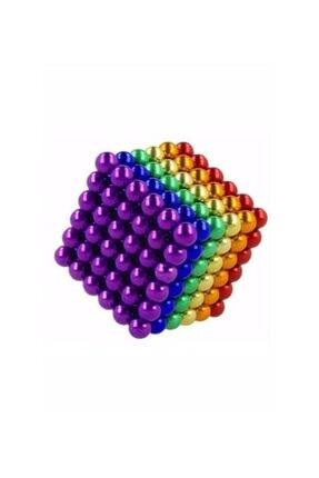 star global Hobi Zeka Oyuncakları Mıknatıslı Zeka Küpü Kutulu Renkli 216 Parça