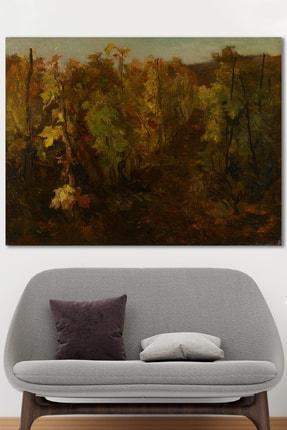 Hediyeler Kapında Autumn Forest Kanvas Tablo