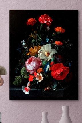 Hediyeler Kapında Spring Flowers Kanvas Tablo