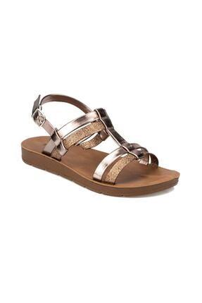 Polaris Kadın  Altın  Sandalet