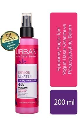 Urban Care Yoğunlaştırılmış Keratin İçeren Onarıcı & Pürüzsüzleştirici Sıvı Saç Kremi 200 ml