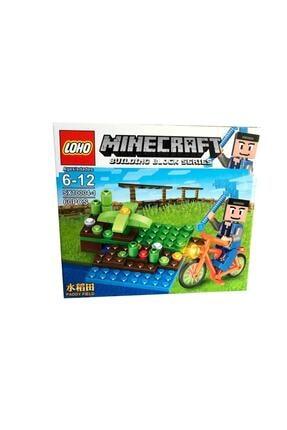 MINECRAFT Lego Yapılandırma Oyuncağı 60 Parça Rs10-10