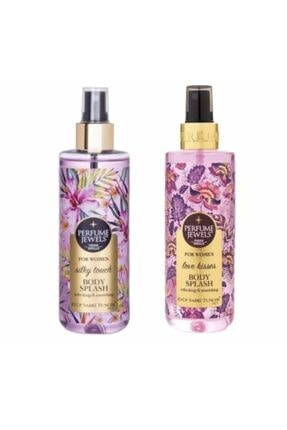 Eyüp Sabri Tuncer Perfume Jewels Body Splash Love Kisses + Sılky Touch Bayan Vücut Spreyi 250 ml