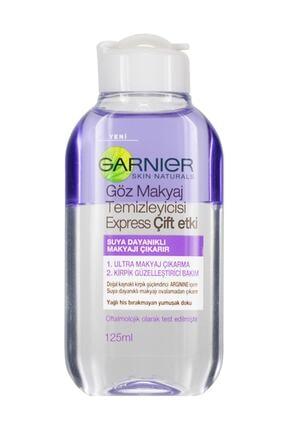 Garnier Çift Etkili Göz Makyaj Temizleyicisi 125 ml