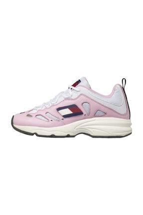Tommy Hilfiger Kadın Pink Sneakers Wmns Tommy Jeans Retro Sneaker EN0EN00584