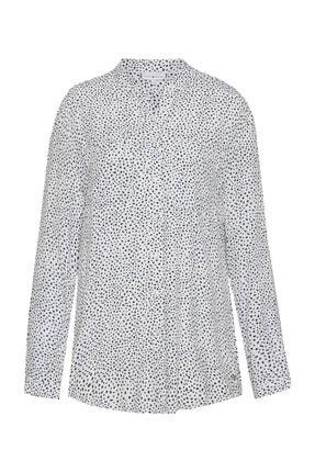 Tommy Hilfiger Kadın Beyaz Gömlek Lucia Shirt Ls WW0WW23991