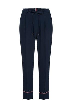 Tommy Hilfiger Kadın Mavi Pantolon Paloma Pullon Pant WW0WW25064