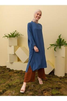 Loreen Kadın Salaş Cep Detaylı Tunik
