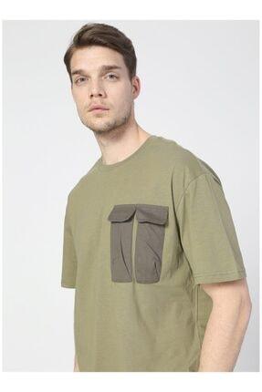 LİMON COMPANY Erkek Haki Tişört