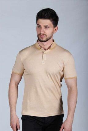 İgs Erkek Bal Standart Polo Yaka Tişört