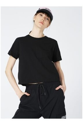 LİMON COMPANY Kadın Siyah T-Shirt