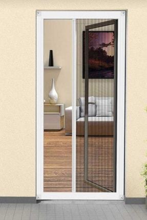 Lemur Sineklik Plise( Akordiyon - Sürgülü - Katlanır ) Renkli Kapı Sineklik