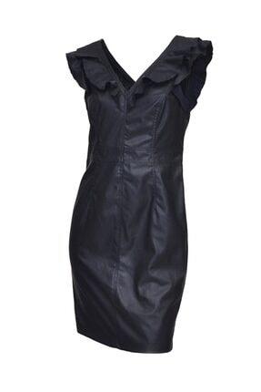 Only Kadın Deri Elbise Dress66